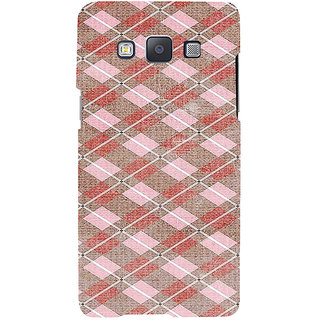 ifasho Design lines pattern Back Case Cover for Samsung Galaxy A7
