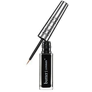 butter LONDON Iconoclast Infinite Lacquer Liner, Brilliant Black, 0.08 fl. oz.