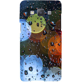 ifasho water Drop on colorful glass Back Case Cover for Samsung Galaxy A7