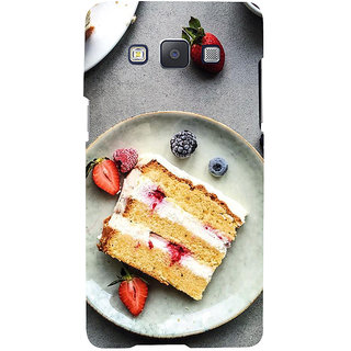 ifasho Animated food pattern Back Case Cover for Samsung Galaxy A7