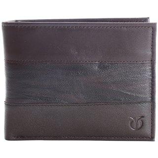 Titan Black Genuine Leather Wallet For Men