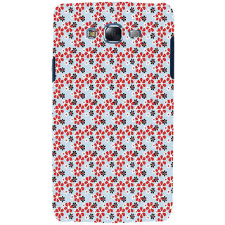 ifasho Animated Pattern colrful design flower with leaves Back Case Cover for Samsung Galaxy J7 (2016)