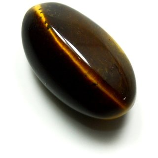 3 Ratti 2.75 Carat Natural Bold Tiger Eye Oval Shape Loose Gemstone For Daily Purpose