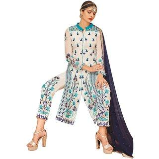 RG Designers  Women's Semi Stiched Salwar Suit Dupatta Material SFARJAAN340