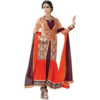RG Designers  Women's Semi Stiched Salwar Suit Dupatta Material SFARJAAN378