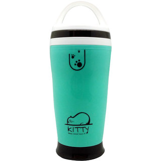 Tuelip Hot And Cold Vacuum Mugs And Shaker Bottle 300Ml - Green