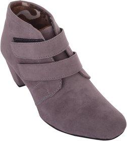 Exotique Women's Grey Casual Boot(EL0031GY)
