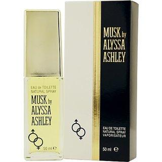 Alyssa Ashley Musk Eau de Toilette Spray, 1.7 Ounce