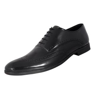 Red Rhino Men's Lace Size 6 Black Smart Formal Brogue Shoes