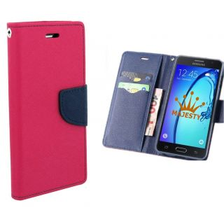 Samsung Galaxy Note 4 Wallet Diary Flip Case Cover Pink