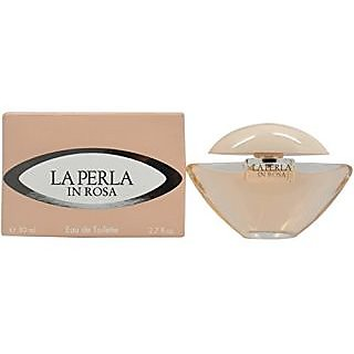 La Perla In Rosa Eau De Toilette Spray for Women, 2.7 Ounce