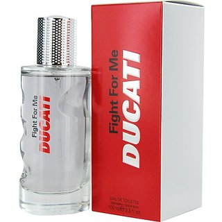 Ducati Fight for Me Eau de Toilette Spray for Men, 3.3 Ounce