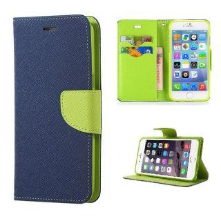 Nokia Lumia 520 Wallet Diary Flip Case Cover Blue