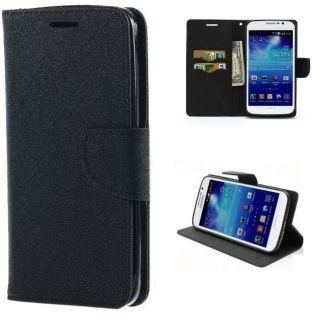 Samsung Z3 Wallet Diary Flip Case Cover Black