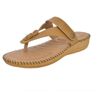7c8a804a010de9 Buy Athlego Women s Brown Flip Flops Online - Get 42% Off