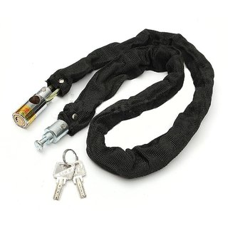 Motorcycle Bike Bicycle High QUALITY HELMET Lock  Chain Lock 80cm w/ 2 Key..