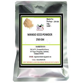 MANGO SEED POWDER 250 GM (FACE PACK --EXFOLIATION-BLACKHEADS-ANTIAGING-FAIRNESS-SKIN CARE)