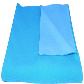 Smarty Twomax baby dry mat sheet large (Sky Blue)