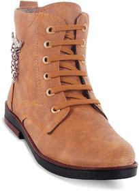Adybird Mens Tan Lace-up Boots