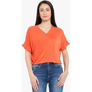 Tarama Orange Plain Top
