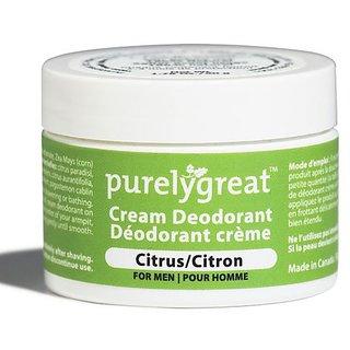 Natural Deodorant for Men Citrus