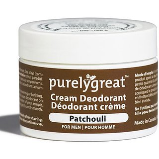 Natural Deodorant for Men Patchouli