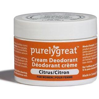 Natural Deodorant for Women Citrus 1.6 oz