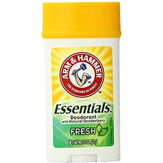 Arm & Hammer Essentials Deodorant, Fresh, 2.5 Ounce (Pack of 6)
