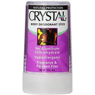 Crystal Body Mineral Salt Deodorant Travel Stick - Unscented (1.5 fl oz)