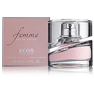 Hugo Boss Femme Eau de Parfum Spray for Women, 1 Ounce