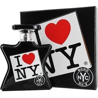 Bond No9 I Love NY Eau de Parfum Spray for All, 3.4 Ounce