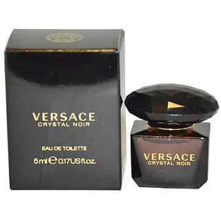 Versace Crystal Noir by Versace for Women Eau De Toilette Splash , 5 ml