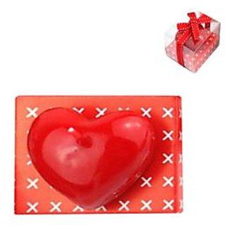 Futaba Romantic Red Heart Shape Candle