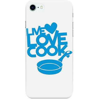 Dreambolic LIVE-LOVE-COOK-with-saucepan Back Cover for Apple iPhone 7