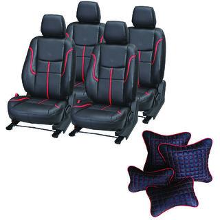 Pegasus Premium Seat Cover for Maruti Esteem  With Neck Rest And Pillow/Cushion