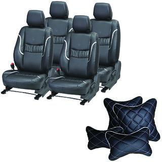 Samsun Car Seat Cover For Maruti Suzuki Sx4 Beige
