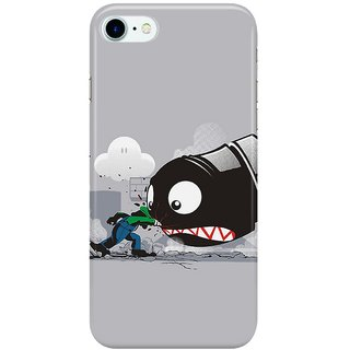 Dreambolic LUIGI-ALWAYS-ANGRY Back Cover for Apple iPhone 7