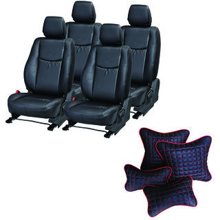 Pegasus Premium Seat Cover for Toyota Corolla  With Neck Rest And Pillow/Cushion