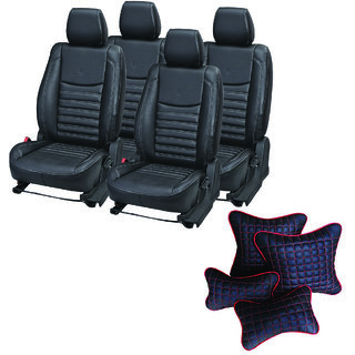 Pegasus Premium Seat Cover for Toyota Etios  With Neck Rest And Pillow/Cushion