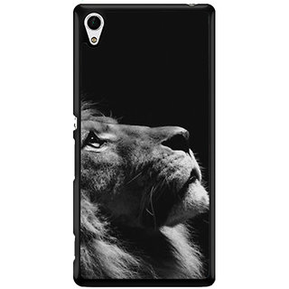Ayaashii Brave Lion Back Case Cover for Sony Xperia Z4::Sony Xperia Z4 E6553