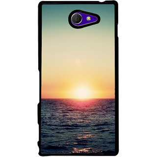 Ayaashii Sun Rise  Back Case Cover for Sony Xperia M2 Dual D2302::Sony Xperia M2