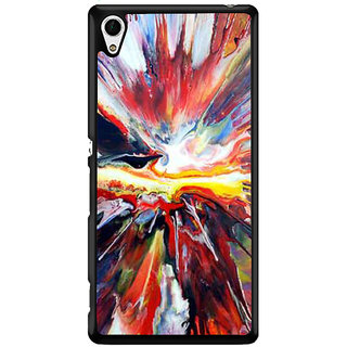 Ayaashii Abstract Colors Back Case Cover for Sony Xperia Z4 Mini::Sony Xperia Z4 Compact