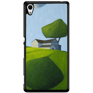 Ayaashii Sketch Of An House Back Case Cover for Sony Xperia Z4 Mini::Sony Xperia Z4 Compact