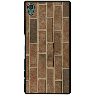 Ayaashii Brick Pattern Back Case Cover for Sony Xperia Z5::Sony Xperia Z5 Dual::Sony Xperia Z5 Premium