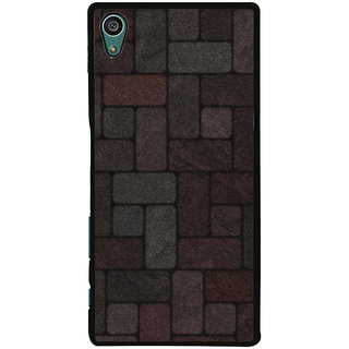 Ayaashii Colorful Brick Pattern Back Case Cover for Sony Xperia Z5::Sony Xperia Z5 Dual::Sony Xperia Z5 Premium