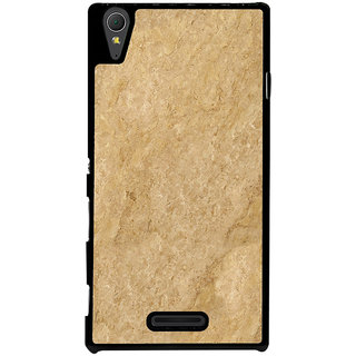 Ayaashii Brown Shaded Layer Back Case Cover for Sony Xperia T3