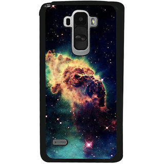 Ayaashii Space Pattern Back Case Cover for LG G4 Stylus
