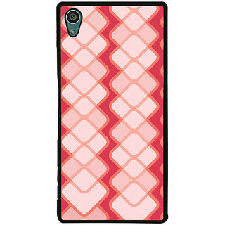Ayaashii Square Pattern Back Case Cover for Sony Xperia Z5::Sony Xperia Z5 Dual::Sony Xperia Z5 Premium