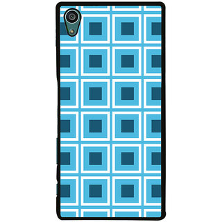 Ayaashii Check Pattern Back Case Cover for Sony Xperia Z5::Sony Xperia Z5 Dual::Sony Xperia Z5 Premium