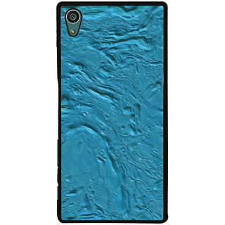Ayaashii Blue Color Paint Back Case Cover for Sony Xperia Z5::Sony Xperia Z5 Dual::Sony Xperia Z5 Premium